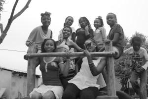 Les filles du groupe des jeunes