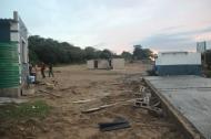 Die Bauarbeiten sindn weiterhin im Gang