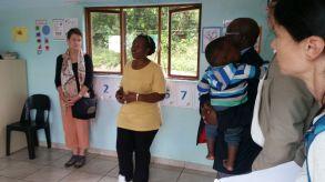 la fondatrice Mary Mlambo dans les nouveaux locaux
